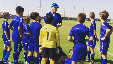 Match against FC Barcelona u11's